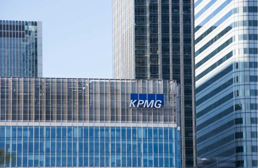 KPMG Canary Wharf office