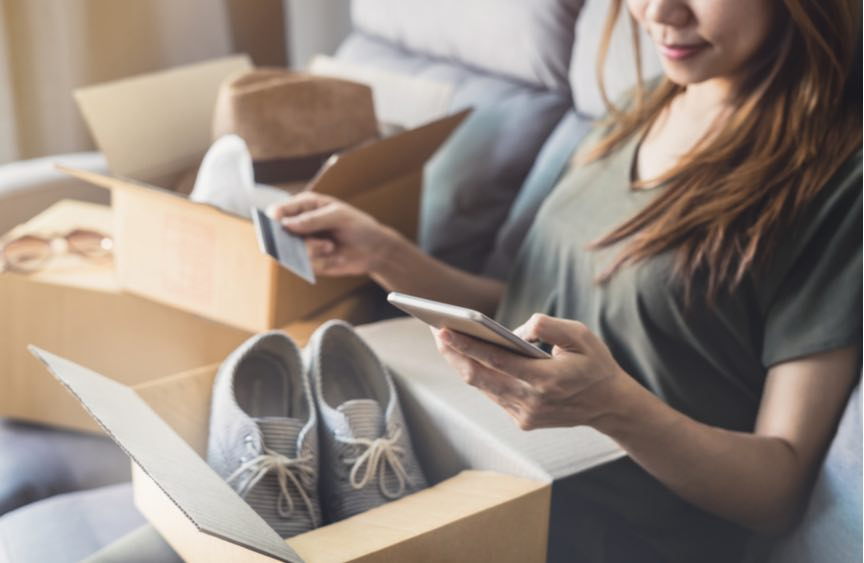 Irish online shoppers