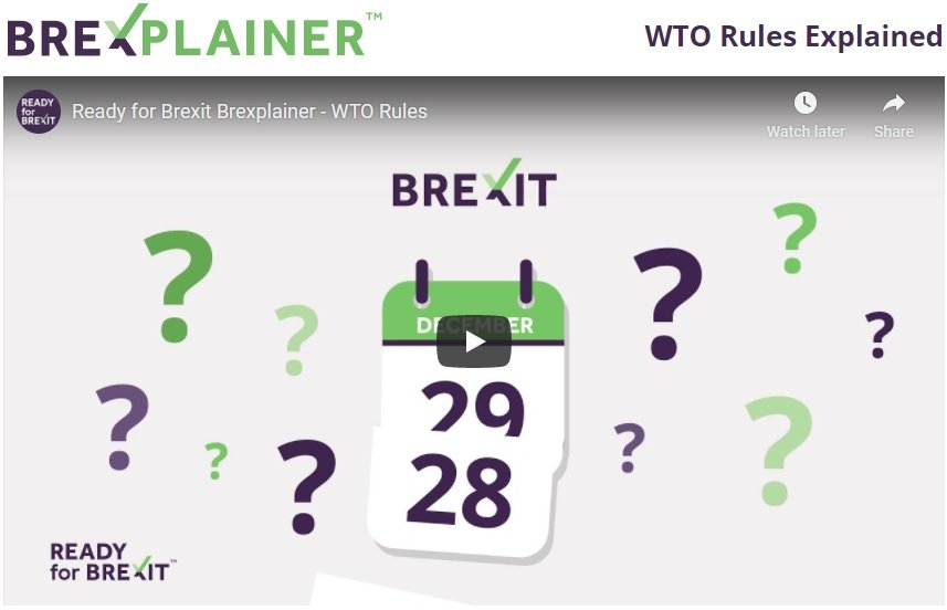 UK heads for WTO Brexit on 1 January – Brexplainer explains WTO Rules that will come into force with a No Deal Brexit